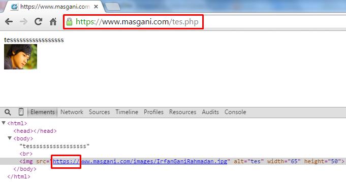 Memperbaiki pesan error ssl