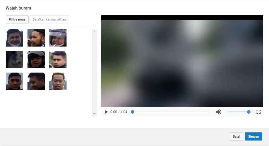 Efek Wajah Buram - YouTube