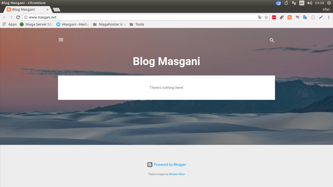 Custom Domain Blogspot Di Niagahoster
