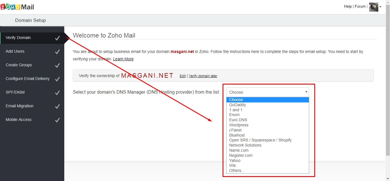 verifikasi domain